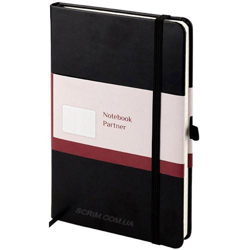 Записные книжки Partner Люкс А5, цвет черный