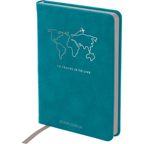 Записные книжки Нуба Стронг А6+, цвет бирюзовый