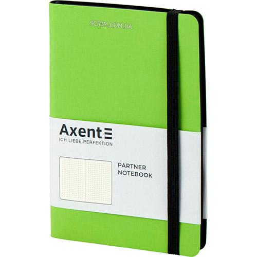 Записные книжки Софт А5-, цвет ярко-зеленый